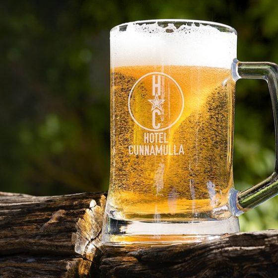 Hotel Cunnamulla Beer Mug