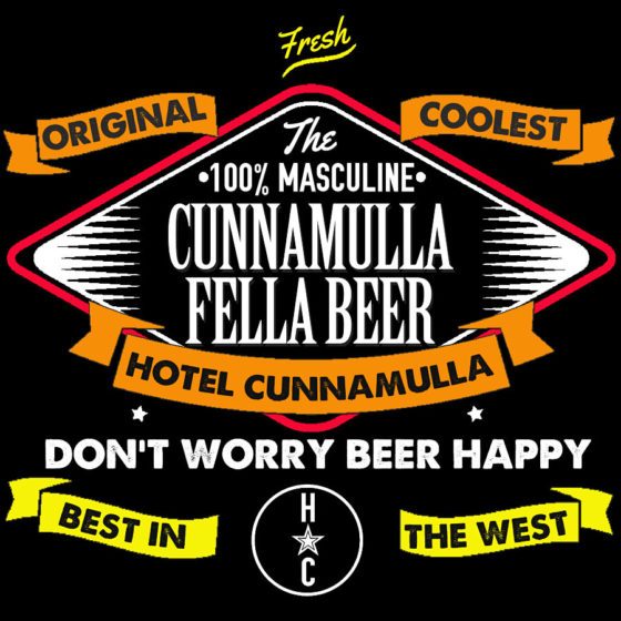 Hotel Cunnamulla Stubby Cooler Fella