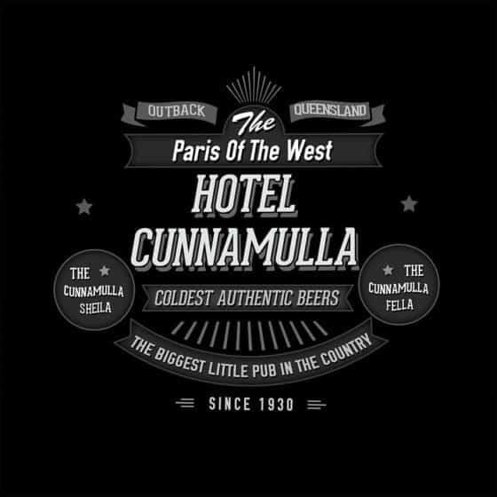 Hotel Cunnamulla T Shirt