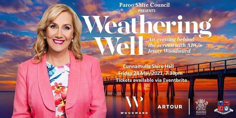 Weathering Well ABC TV Jenny Woodward Hotel Cunnamulla